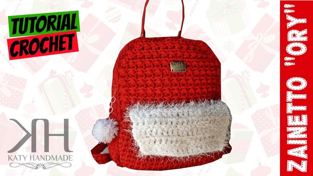 Borse Tutorial Zaino Ory Uncinetto Punto Econocciolina Crochet