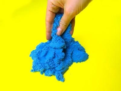 Come preparare la sabbia cinetica
