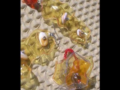 Gioielli in PET - Le mie creazioni - la Grazia della plastica