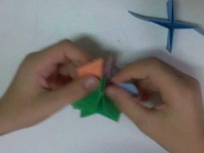 Origami Stella 3d prima parte
