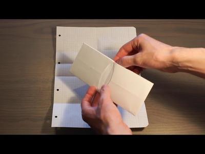 Come creare un portafoglio di carta in maniera semplice e veloce - How to make a simple paper wallet