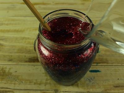 Barattolo della Calma | How to make a calming glitter jar ● DIY