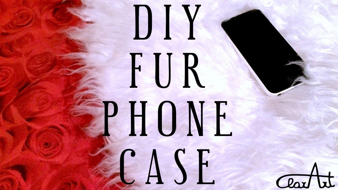 Cover Pellicciosa! | DIY Fur Phone Case