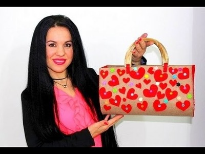 DIY TUTORIAL:How to make a Handmade BAG.Come fare una Borsa Fatta a Mano
