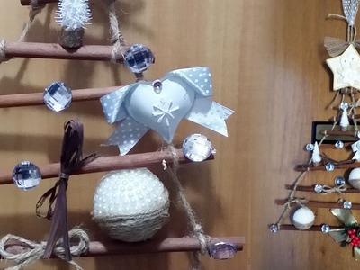 Albero natalizio fai da te con bastoncini profumati - DIY Christmas tree