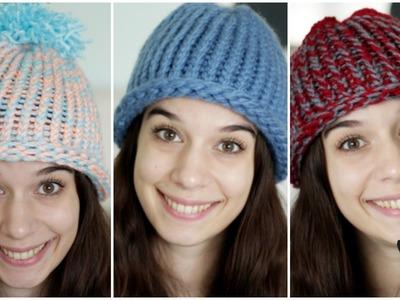 Cappellini di lana per adulti e bambini DIY | Natale con Zecca
