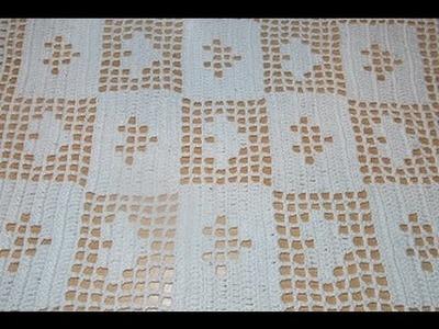 Crochet uncinetto centro tavola tutorial passo a passo cuore