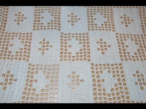 Crochet crochet uncinetto centro tavola tutorial passo a - Centro tavolo all uncinetto ...
