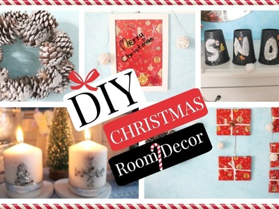 DIY Christmas Room Decor!