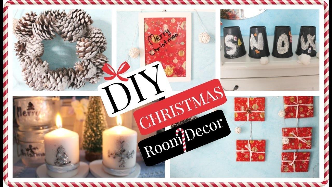 DIY Christmas Room Decor!