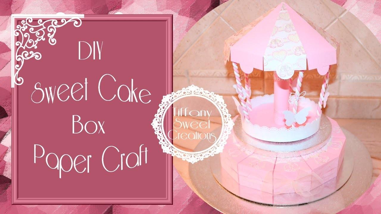 Sweet Cake box ♡ DIY Tutorial ( prima parte )