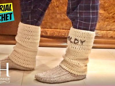Tutorial scaldamuscoli uncinetto per principianti | legwarmers crochet || Katy Handmade