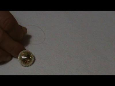 Tutorial- Tecniche di Base Incastonare un Rivoli 16 mm | DIY