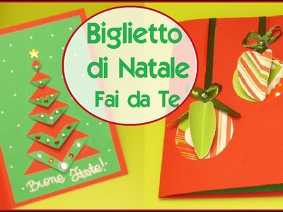 BIGLIETTO DI NATALE Fai da Te ft. Fairy Fashion Art - DIY XMAS CARD