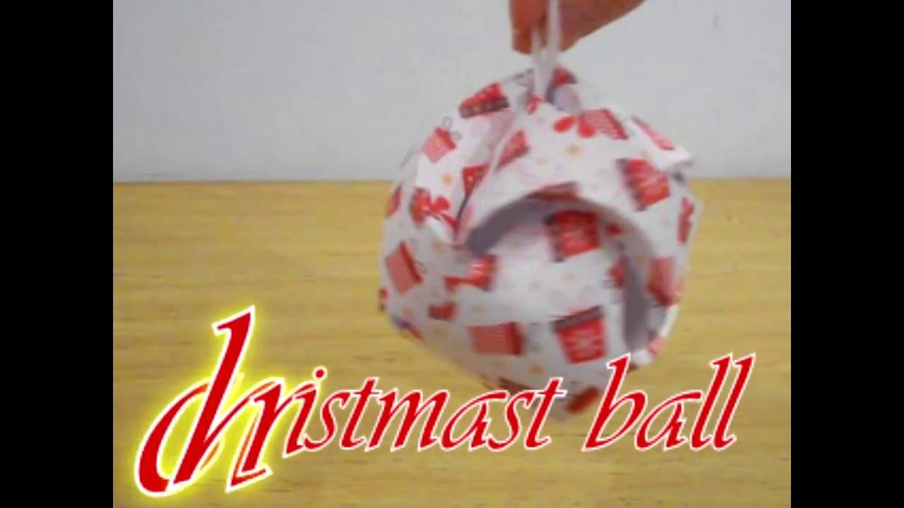 Christmas ball 3D ~ Pallina di Natale 3D