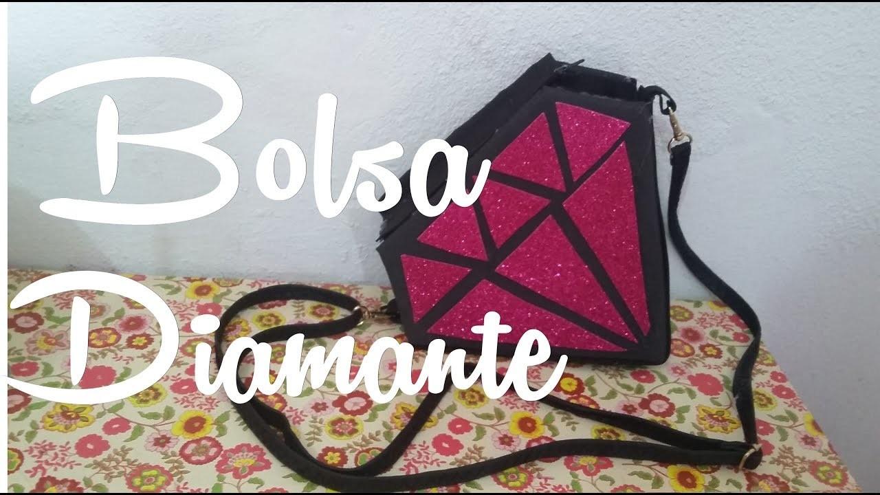 Diy.: Bolsa de Diamante  Diamond bag