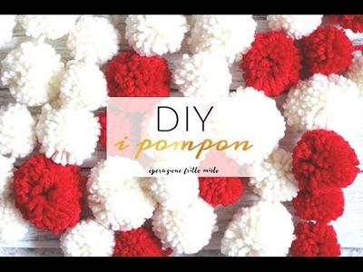 DIY: i pom pon