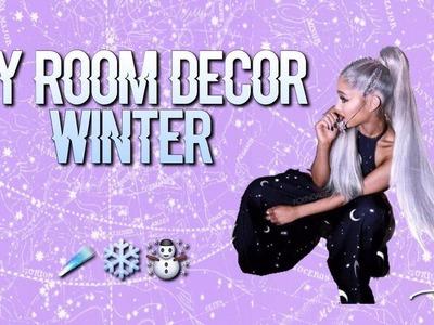 DIY:ROOM DECOR WINTER #1 ||Dreamin'Ari
