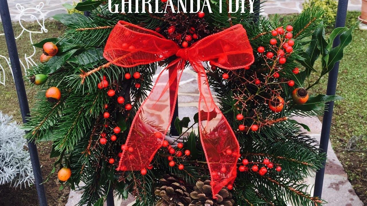 Ghirlanda Natalizia | DIY Christmas Wreath