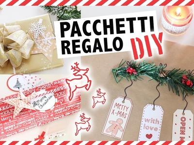 Pacchetti Regalo XMAS DIY ♥ idee e materiali fai da te