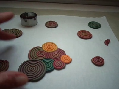 Tutorial polymer clay : cabochon con estrusore