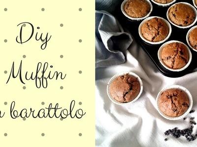 DIY    Muffin  in Barattolo