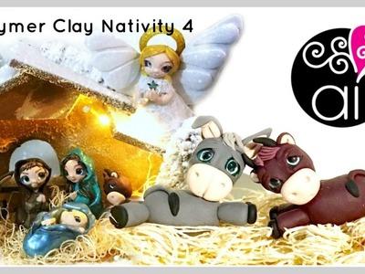 Polymer Clay Nativity Tutorial | DIY Presepe Fimo | Il Bue e l'Asinello | 4°