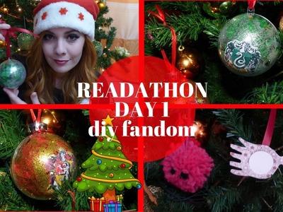 READATHON DAY 1 | Diy Fandom!