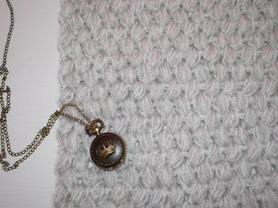COME FARE UNA SCIARPA AD UNCINETTO FACILE E VELOCE  | Easy crochet scarf