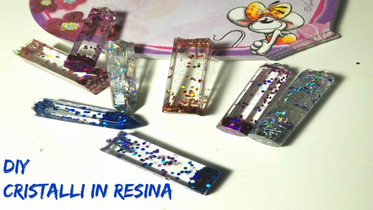 Come realizzare delle gemme in resina! DIY RESIN GEM !!