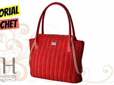 "TUTORIAL BORSA ""Elegant"" | Uncinetto.Crochet | PUNTO FANTASIA || Katy Handmade"