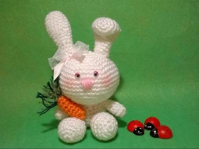 Tutorial Coniglietto Uncinetto - Amigurumi Rabbit Bunny Crochet -Conejo Conejito - Coelho Croche