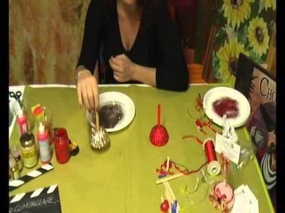 Tutorial segnaposto natalizio di Arte e Creatività di Carmen Pellecchia idea regalo Natale