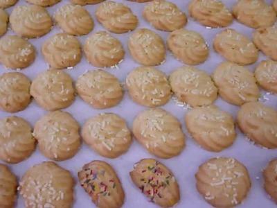 Come fare i Biscotti di Frolla Montata - Pasticceria da tè - Ricette Dolci e Cucina - Tutorial
