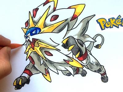 DESSIN SOLGALEO (Pokémon)