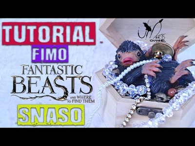 Tutorial Snaso in Fimo - Animali Fantastici e Dove trovarli - in collaborazione con sbknPENNY