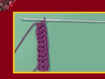Come lavorare l'uncinetto senza la catenella iniziale in verticale - tutorial