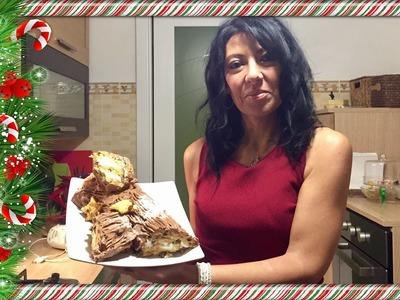 Tronchetto natalizio in 10 minuti!!!!!!