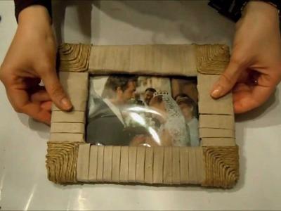 Festa del Papà - costruiamo una cornice (Fai da te) - Arte per Te -