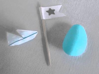 Origami del sabato: navi di carta