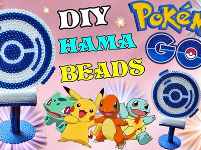 PokeStop Pokemon Go con Hama Beads | Tutorial ✿
