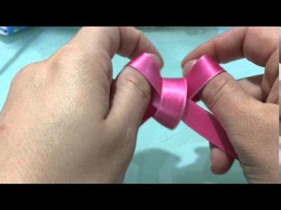 Tutorial: come realizzare fiocchi di nastro