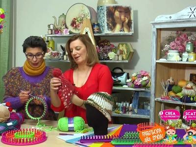 VIDEO IL BAULE CREATIVO  Punto legaccio a telaio  con Franca