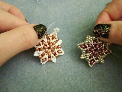 DIY Tutorial: Modulino Flavia, con Es-O, perle da 4 mm e rocailles