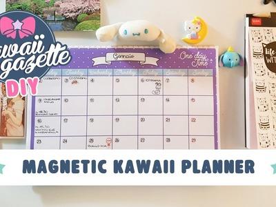 Kawaii Planner magnetico DIY ~ tutorial