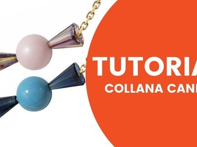 Video Tutorial DIY - Collana Candy Swarovski - Dooitu