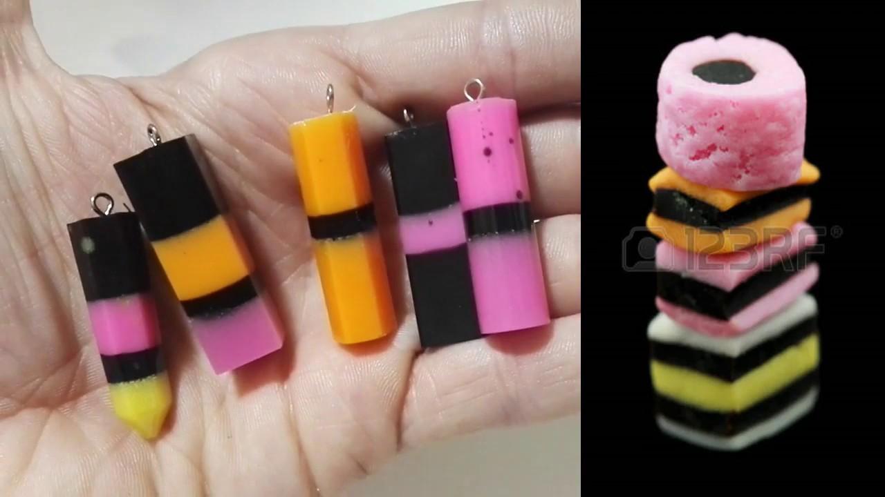 Come realizzare delle gemme in resina a tema Liquirizie! DIY RESIN GEM !!