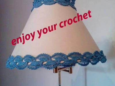 Crochet: vivacizzare un vecchio paralume