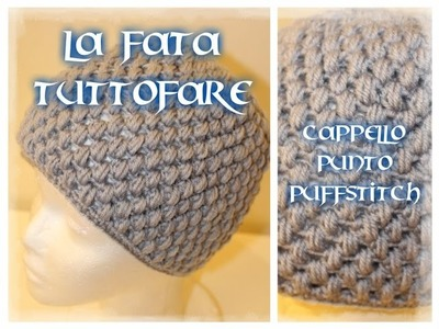 Tutorial: cappello a punto puff stitch