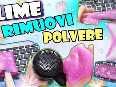 SLIME RIMUOVI POLVERE!? Diy Slime con Sgrassatore | Lady Sperimenta✿